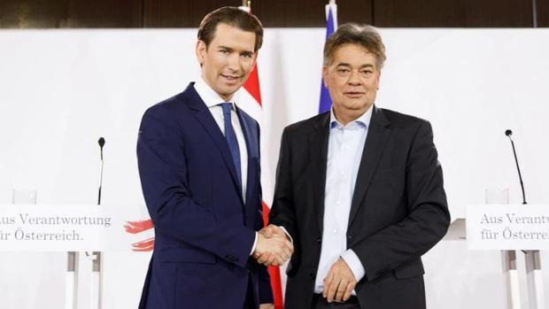 La coalición austriaca de conservadores y verdes se va de retiro