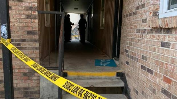 Imagen del bloque de apartamentos de Ocala donde ocurrió el suceso