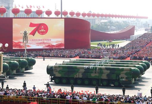 Military parade to commemorate the 70th anniversary of the People's Republic of China