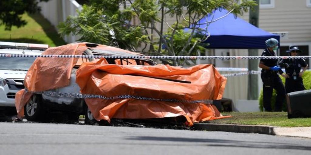Mueren tres niños con sus padre después de que su coche comenzara a arder en Australia