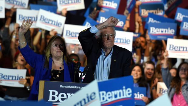 Sanders gana en Nevada y refuerza su favoritismo para la nominación