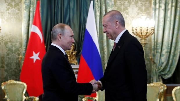 Putin y Erdogan pactan una reducción de las hostilidades en la región siria de Idlib
