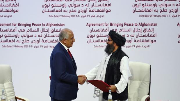 Los talibanes logran su objetivo y EE.UU. firma su retirada de sus tropas de Afganistán