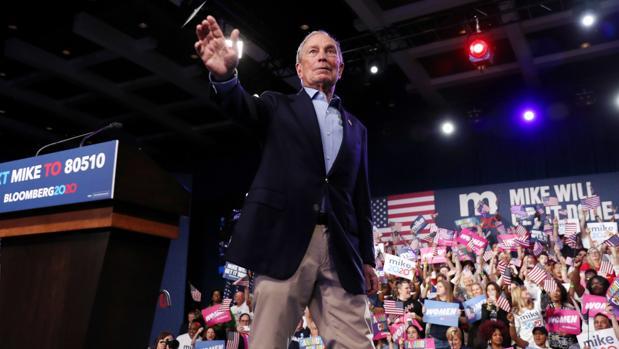 Bloomberg se estrella en el Supermartes tras quemar 500 millones de dólares en su campaña