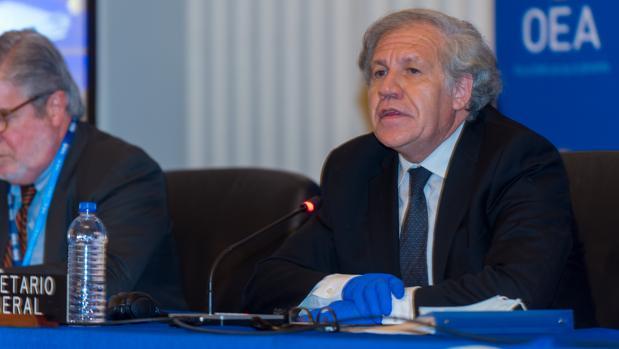 Luis Almagro tras ser reelegido