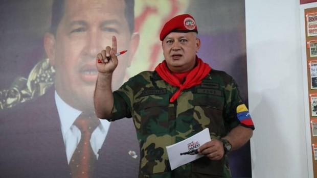 Diosdado Cabello dice que EE.UU. no tiene pruebas del narcoterrorismo