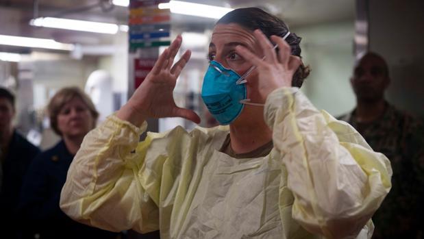 EE.UU. supera los 200.000 contagios y el coronavirus se dispara más allá de Nueva York
