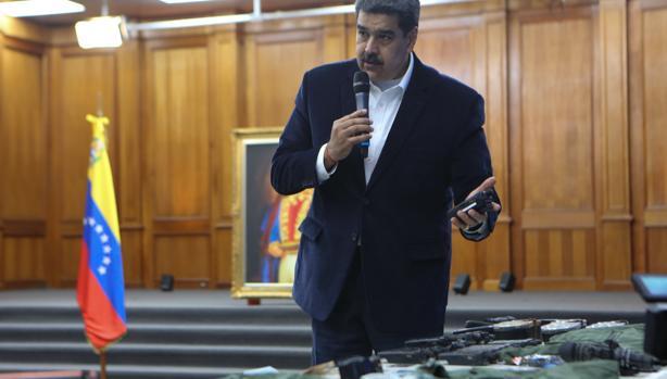 Maduro acusa a la DEA de contratar a «narcos» en el golpe frustrado