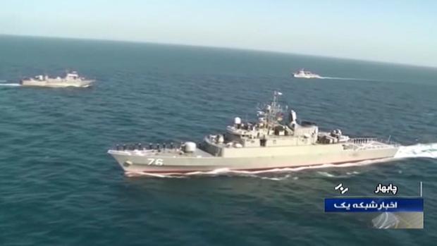 Mueren 19 militares iraníes después de que un buque disparara por error a otro en unas maniobras