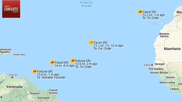 Venezuela e Irán desafían a EE.UU.: llega al Caribe el primer carguero iraní con gasolina para Maduro