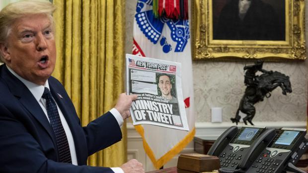 Trump inicia una transformación sin precedentes de las redes sociales