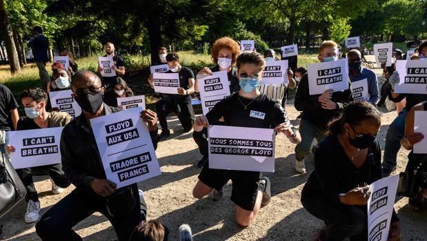 Convocan una manifestación antiracista ante el Tribunal de París en solidaridad con la muerte de Floyd