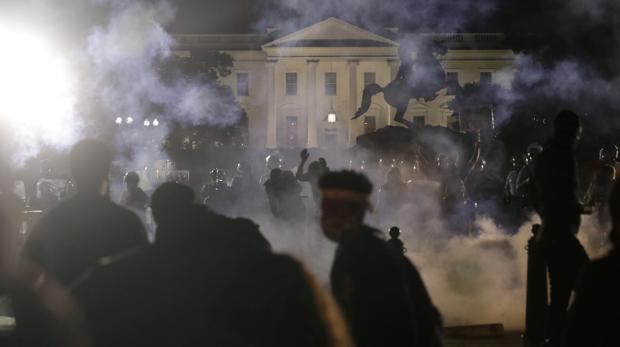 La Casa Blanca mantendrá cerrados sus alrededores hasta el 10 de junio por las protestas antirracistas