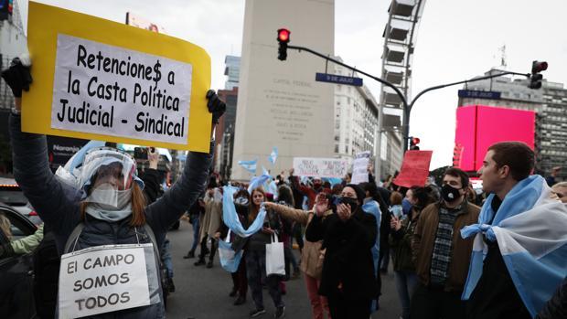 Argentina se echa a la calle en contra de los intentos de expropiación de «Vicentín» de Alberto Fernández