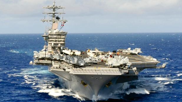 Portaviones de EE.UU. desafían a China con unas maniobras en el Pacífico occidental