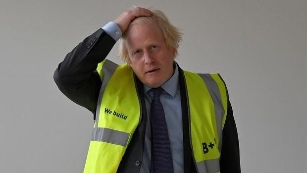 Johnson lamenta que los británicos estén más gordos que el resto de los europeos