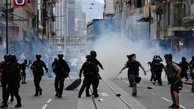 Las protestas de Hong Kong no se achantan ante la nueva Ley de Seguridad Nacional impuesta por China