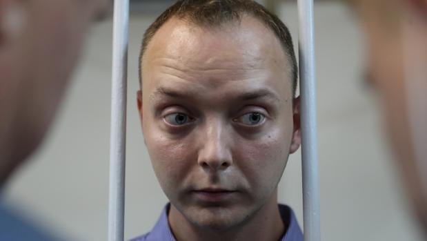 Ivan Safrónov, tras su detención