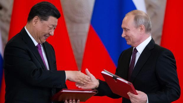 Putin se alía con China en la nueva «Guerra Fría»