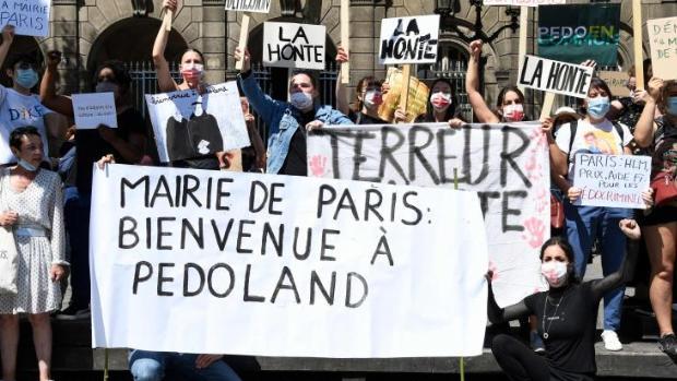 La Alcaldía de París se convierte en «Pedoland»