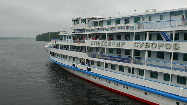 Detectan un brote de coronavirus a bordo de un barco ruso de crucero fluvial