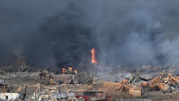 Una brutal explosión sacude Beirut poco antes del veredicto sobre Hariri