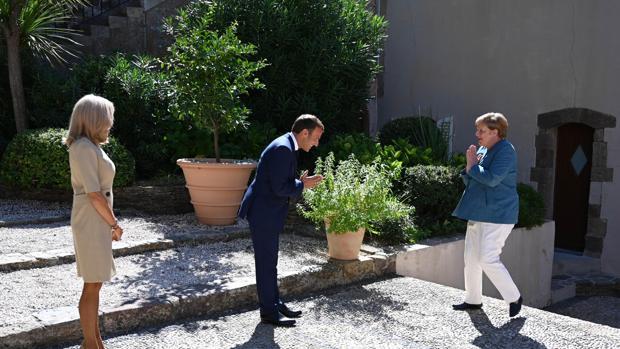 Macron y Merkel quieren mediar en Bielorrusia junto a Vladimir Putin