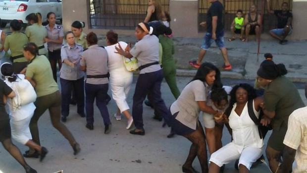 La represión contra las Damas de Blanco, denunciada ante la ONU