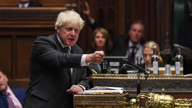 El Parlamento británico decidirá si se rompe el acuerdo de retirada de la Unión Europea