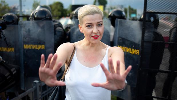 Imputada por atentar contra la seguridad nacional la opositora bielorrusa Kolésnikova