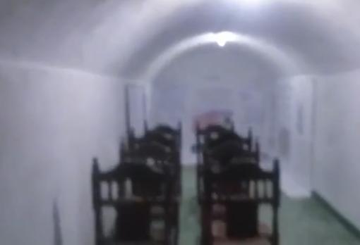 Una de las salas subterráneas de las instalaciones