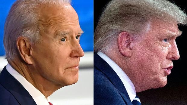 Trump recibe más golpes y atención en el duelo en la distancia con Biden