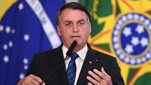 Bolsonaro dice que en su Gobierno no hay corrupción pero que sí la hay en Brasil