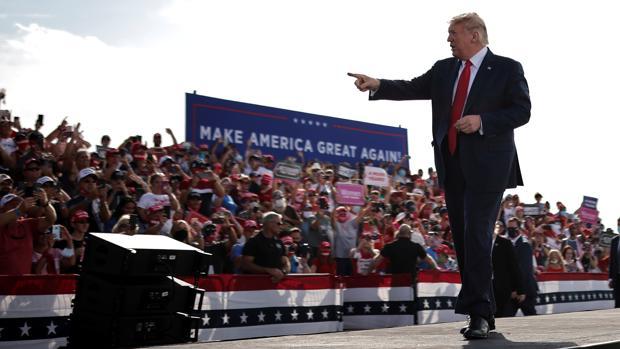 Trump predice en Florida una «marea roja» para ganar la reelección