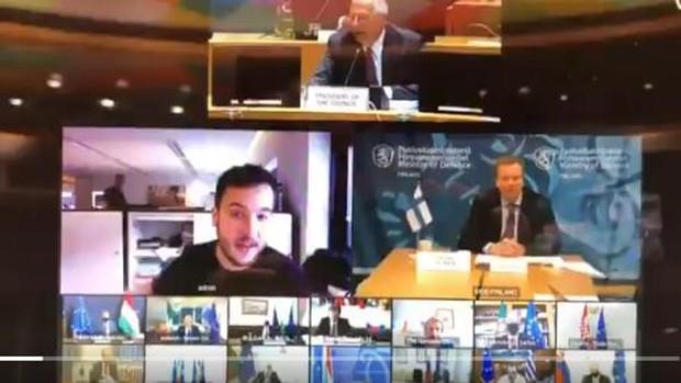 Un periodista holandés se cuela en una reunión virtual secreta de ministros de Defensa de la UE
