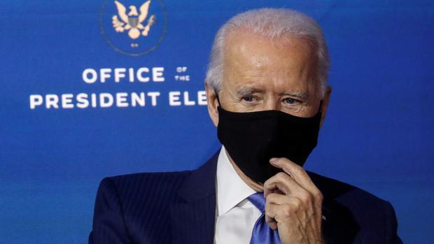 Biden pedirá a los estadounidenses que lleven la mascarilla durante cien días