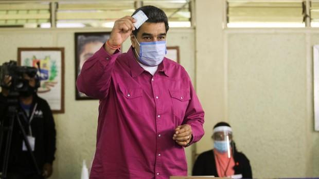 La abstención es la vencedora en la farsa electoral de Nicolás Maduro