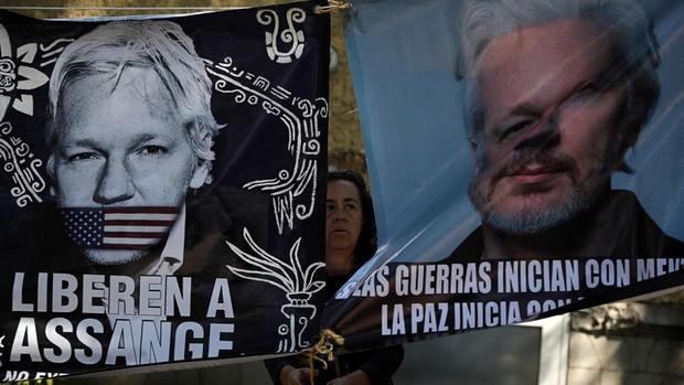 La Justicia británica niega la libertad bajo fianza a Assange