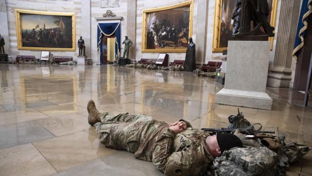 Y el Capitolio se convirtió en cuartel