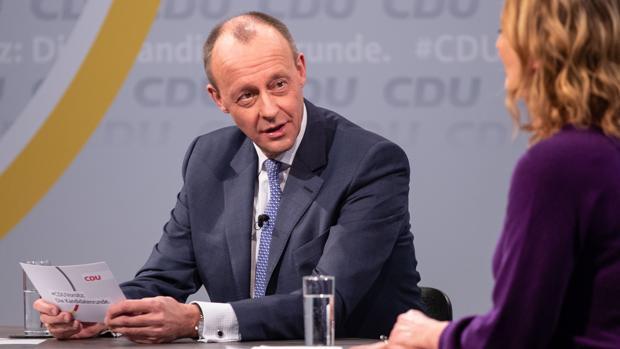 La economía alemana prefiere a Merz como recambio de Merkel