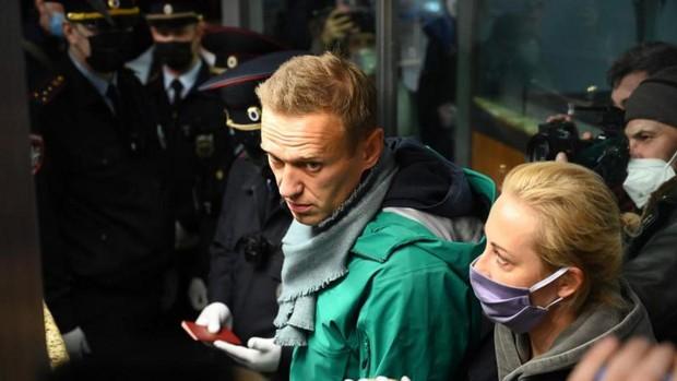 El opositor ruso Navalni, detenido tras aterrizar en Moscú