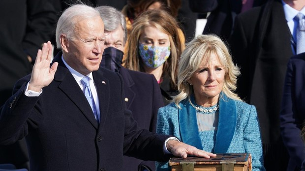 Joe Biden es ya el 46º presidente de EE.UU.: «La democracia ha vencido»