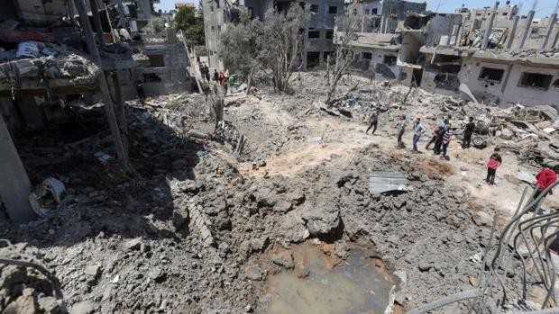 Israel lanza una lluvia de fuego para destruir la red de túneles de Hamás en Gaza