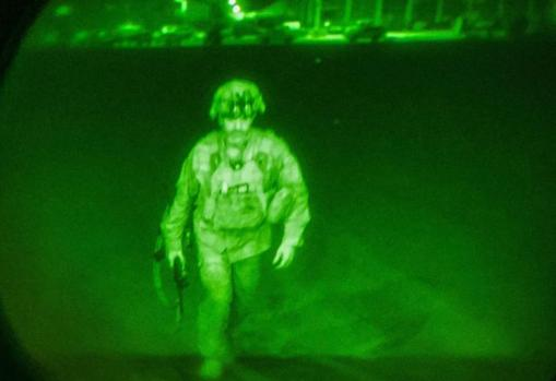 Major General Chris Donahue, last US serviceman to leave Afghanistan