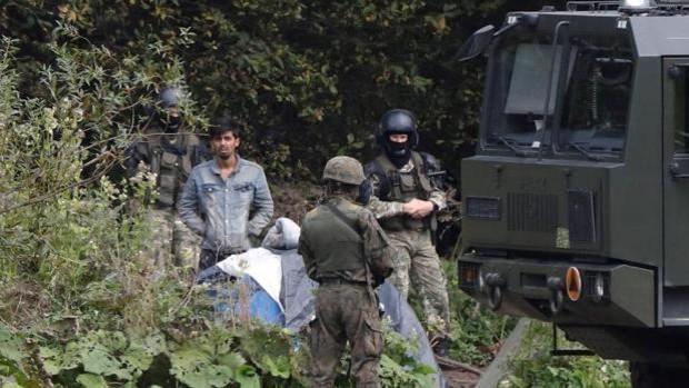 Aparecen los cadáveres de cuatro inmigrantes en la frontera entre Polonia y Bielorrusia