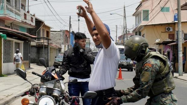 Blinken visita Ecuador en pleno estado de excepción