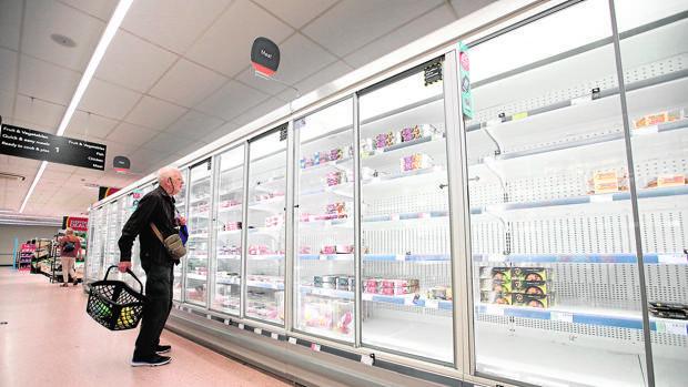Decepción en el Reino Unido ante la crisis de suministros