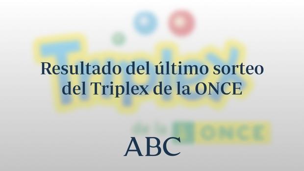 Triplex de la ONCE: Resultados de hoy domingo, 13 de junio de 2021