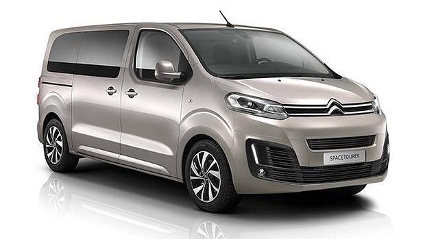 Tres longitudes y 4 acabados tendrá el nuevo monovolúmen SpaceTourer de Citroën