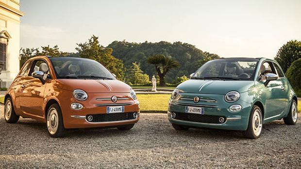 El Fiat 500 Aniversario llega con dos colores exclusivos: Verde Riviera y Naranja Sicilia